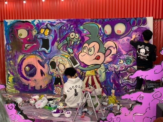 【次世代アーティストコラボ】SPINNS×:DISPURPLE @SPINNS京都本店
