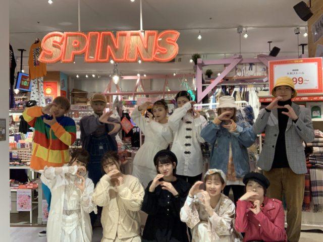 移転リニューアルオープンイベント@SPINNS金沢店